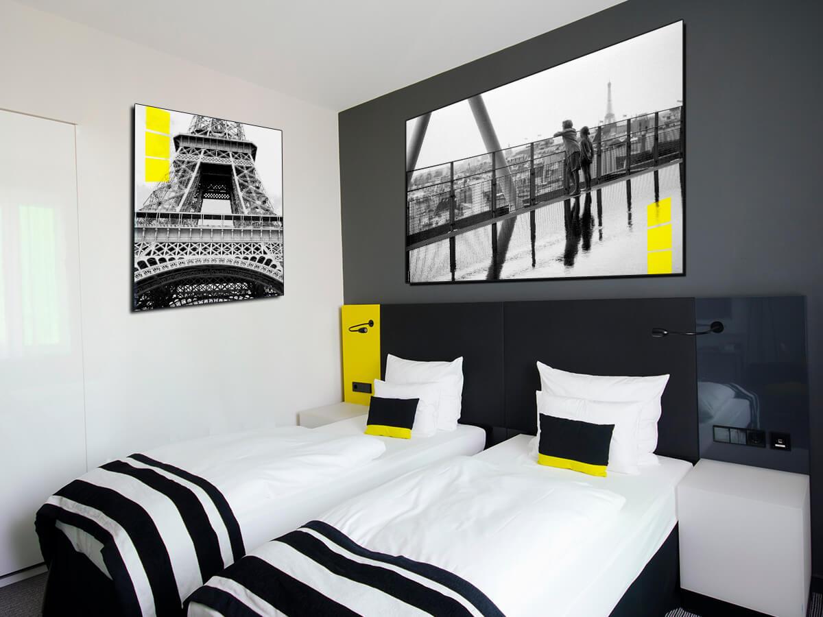 Têtes de lit et cadres pour la décoration d'hôtel - Vue 1