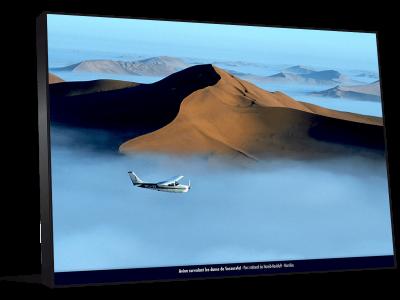 Cadre photo vue aerienne