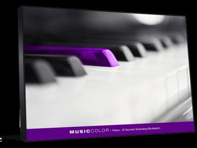 Décoration de bureau piano
